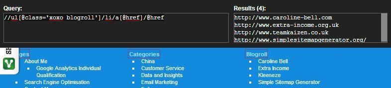 How To Return Multiple Nodes Using XPathOnUrl - Contrado Digital